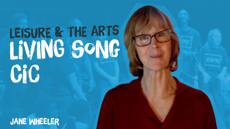 Jane Wheeler tells the story of founding Living Song CIC, rooted in Newham, East London, and centred around singing.