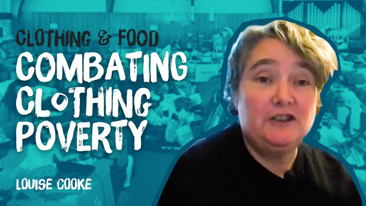 Louise Cooke founded Sharewear Clothing Scheme in 2014 to combat clothing poverty.